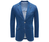 Jeans-Sakko dunkelblau