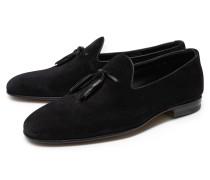 Tassel Loafer schwarz