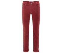 Cordhose 'PW688 Comfort Vintage Slim Fit' rostbraun