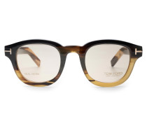 Brillenfassung 'Tom N.13' grau/braun
