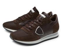 Sneaker 'Tropez' dunkelbraun