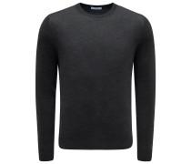 R-Neck Pullover anthrazit
