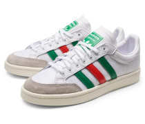 Sneaker 'Americana Low' weiß/grün