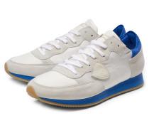 Sneaker 'Tropez' offwhite/blau