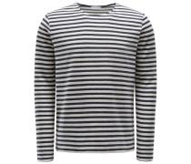 R-Neck Pullover 'Caesar' navy/offwhite