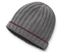 Cashmere Mütze grau