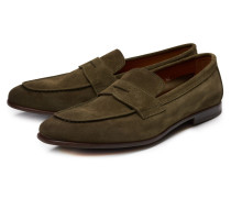 Penny Loafer oliv
