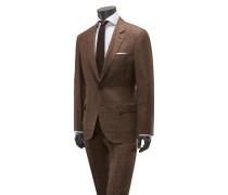 Anzug hellbraun