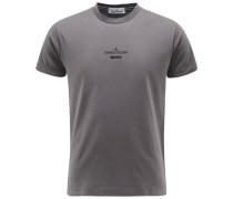 R-Neck T-Shirt 'Archivio' dunkelgrau
