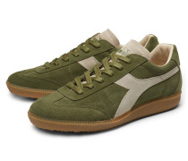 Sneaker 'Football 80's Core 3' oliv