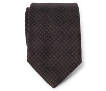 Krawatte dunkelbraun/braun