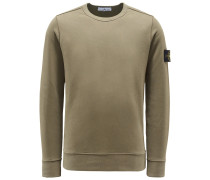 R-Neck Sweatshirt oliv