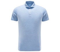 Jersey-Poloshirt 'Ben' hellblau