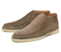 Loafer 'Open Walk' graubraun