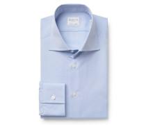 Business Hemd Haifisch-Kragen pastellblau