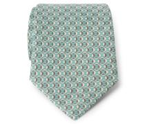 Krawatte mint/braun