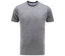 R-Neck T-Shirt dunkelgrau