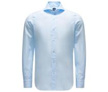 Casual Hemd 'Sergio Gaeta' Haifisch-Kragen pastellblau