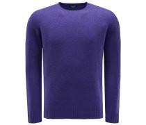 R-Neck Pullover violett
