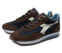 Sneaker 'Equipe Evo II' dunkelbraun/navy