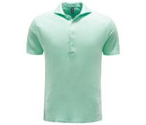 Leinen-Poloshirt mint