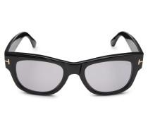 Sonnenbrille 'Tom N.2' schwarz/grün
