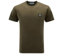 R-Neck T-Shirt dark olive