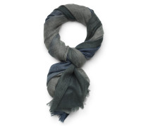 Cashmere Schal 'Bryce Soft Air' grau/blau