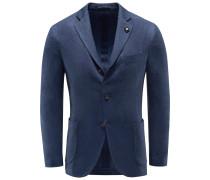 Jersey-Sakko blau