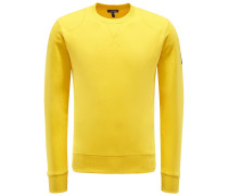 R-Neck Sweatshirt 'Jefferson' gelb