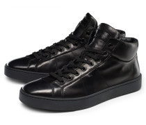 High Top Sneaker schwarz
