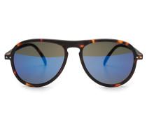 Sonnenbrille '#I Sun' dunkelbraun /blau