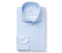 Casual Hemd 'Ween' schmaler Kragen hellblau