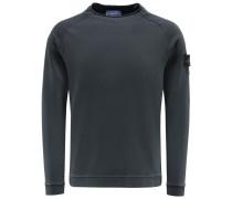 R-Neck Sweatshirt anthrazit