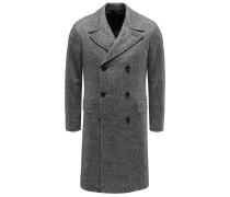 Mantel grau/weiß