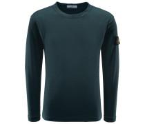 R-Neck Pullover dunkelgrün