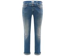 Jeans 'Unity Slim' rauchblau