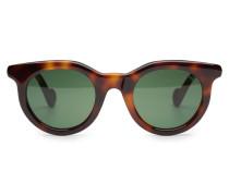 Sonnenbrille braun/grün
