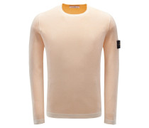 R-Neck Wendepullover apricot