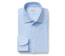 Oxfordhemd 'Soho' Haifisch-Kragen hellblau