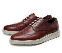 Brogue-Sneaker 'H322' braun