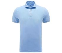 Poloshirt hellblau