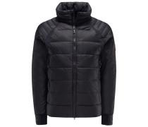Daunenjacke 'Hybridge Base Jacket' schwarz