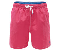 Badeshorts 'Solid Volley' magenta