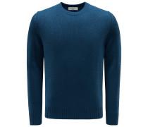Cashmere R-Neck Pullover dunkelblau