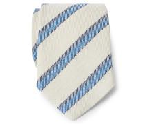 Krawatte creme/blau/navy