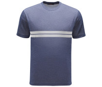 R-Neck T-Shirt 'Milo' graublau