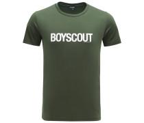 R-Neck T-Shirt 'Boyscout' dunkelgrün