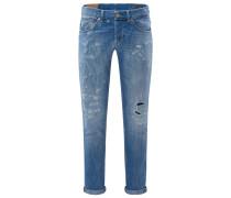 Jeans 'George' rauchblau