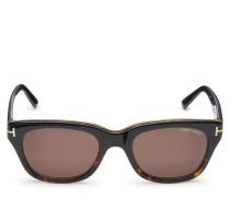 Sonnenbrille 'Snowdon' schwarz/braun